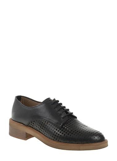 Divarese Oxford Ayakkabı Siyah